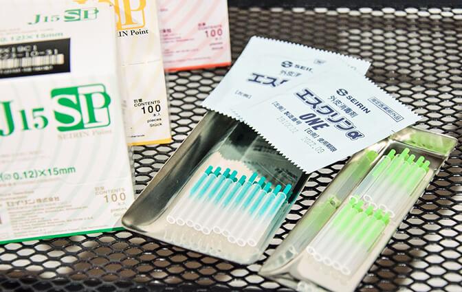 国産の安心安全な使い捨て鍼