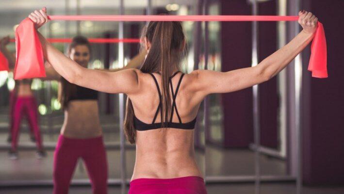老化防止背中トレーニング